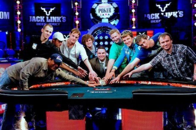 드디어 2011 WSOP 메인 이벤트 파이널 테이블의 시작! 0001