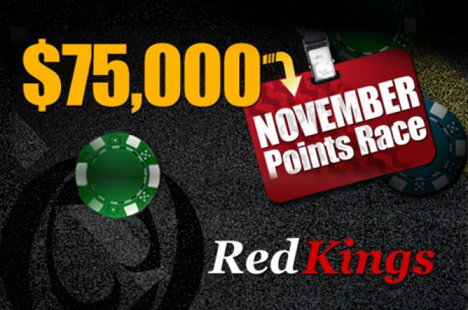 2 more Daily VIP Races at RedKings Poker 0001
