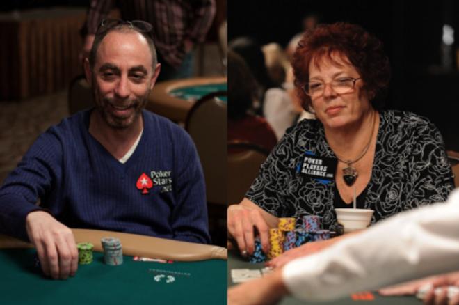Barry Greenstein és Linda Johnson a Poker Hall of Fame-ben 0001