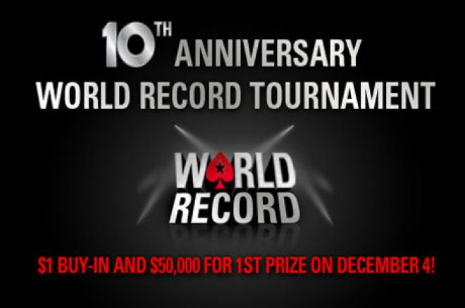 Na PokerStarsu Zakazan Turnir Za Obaranje Svetskog Rekorda 0001