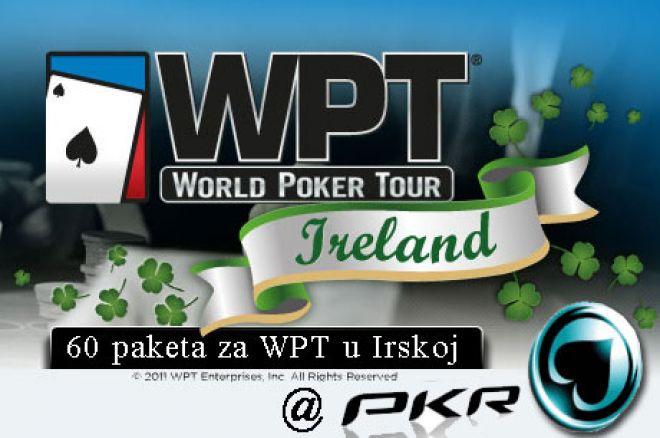 PKR Poker Nudi min. 60 Ekskluzivnih Paketa za WPT Ireland 0001