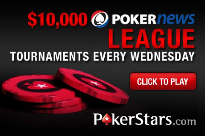 Storm the Leader Board in the PokerNews $10,000 PokerStars League 0001