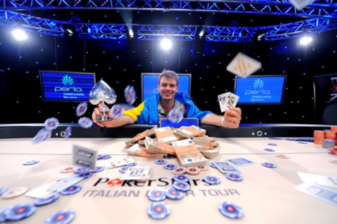 Олексій Ковальчук зайняв третє місце на ME Partouche Poker... 0001
