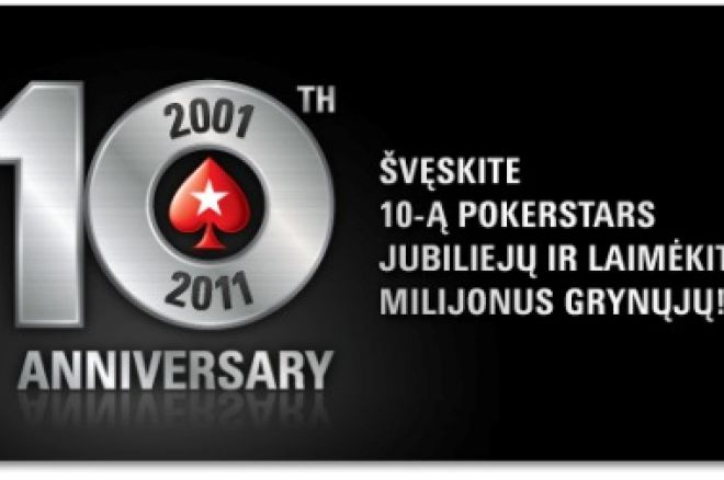 Dar daugiau PokerStars dešimtmečio akcijų 0001