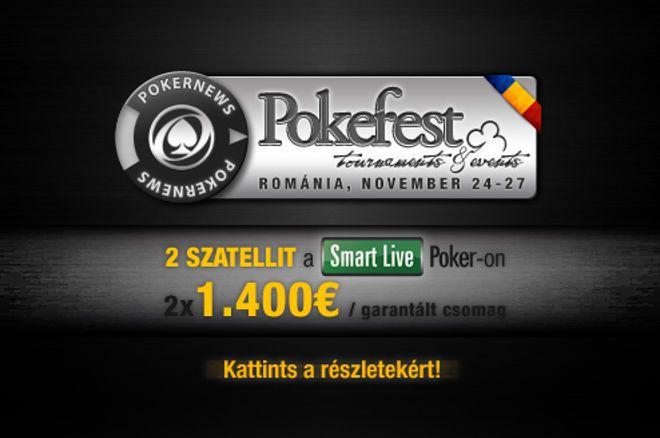 Dimitrov 19 fős szatelliten nyert beülőt a bukaresti PokerFestre. Még 1 hely kiadó! 0001