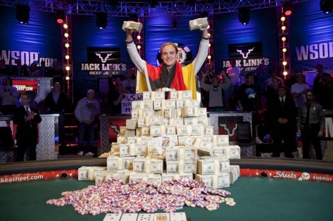 Pius Heinz betalte null i skatt av premiepengene fra WSOP 0001