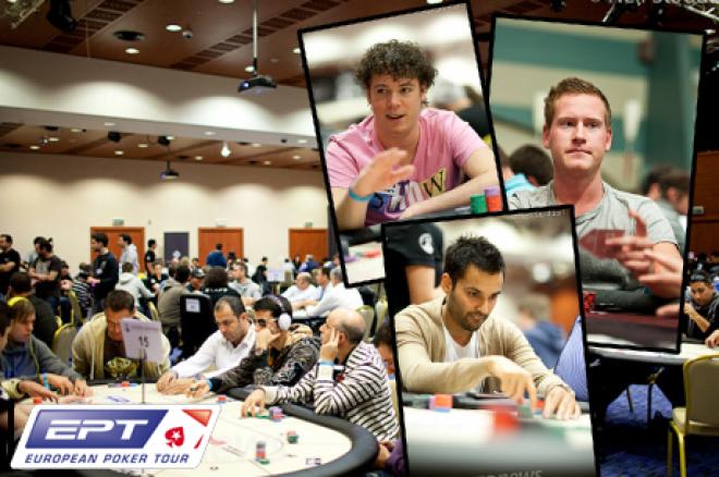 PokerStars.com EPT Loutraki - Zeven Nederlanders en drie Belgen overleven dag 1a
