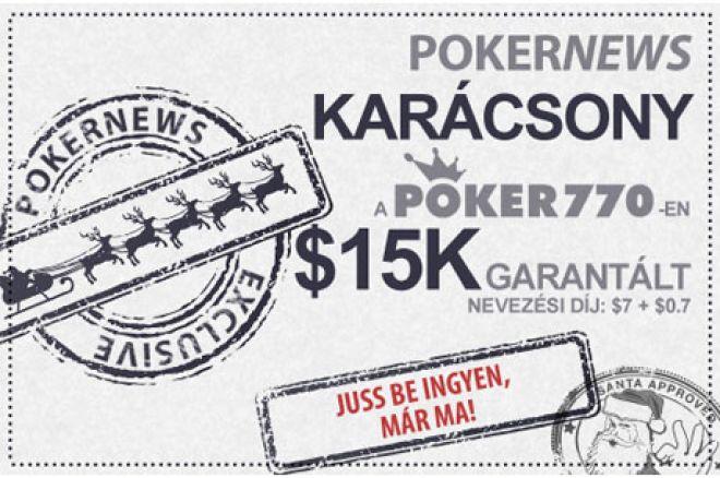 Vedd ki a részed a Poker770 $15.000-os karácsonyi ajándékából! 0001