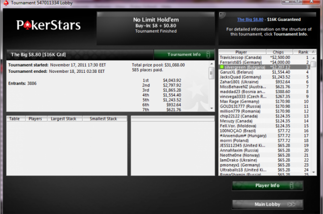 silvergreen Pokerstars