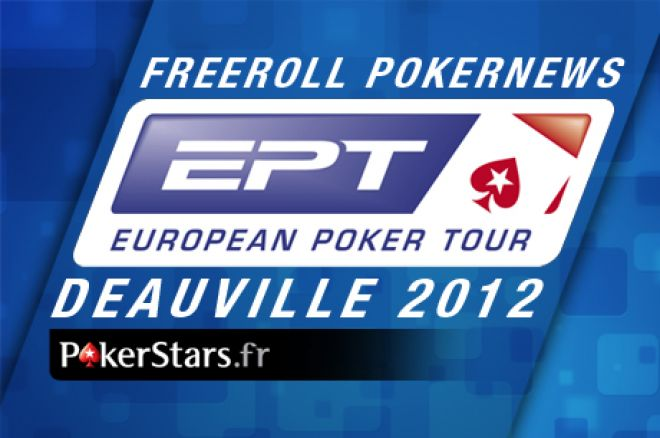 Freerolls Pokernews sur PokerStars.fr : 42 tickets EPT 100€