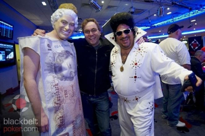 Neil Channing with the Queen and Elvis, honest.
