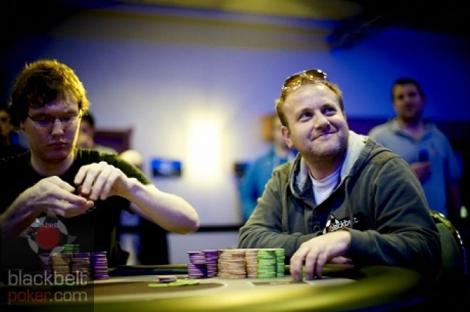 Stuart Hyson (Right): Photo credit: Blackbelt Poker.com
