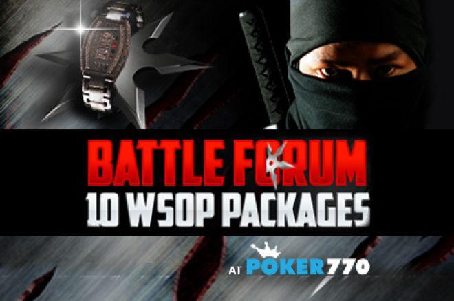 Wygraj pakiet na WSOP 2012 dzięki promocji Poker770 Battle Forum 0001