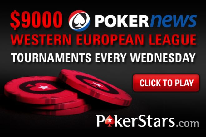 Join Team PokerStars in the $9,000 PokerNews Western European League 0001
