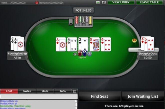 扑克之星里程碑活动移除单挑游戏 0001