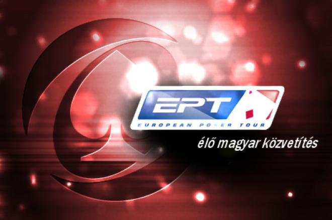 Élő, magyar nyelvű közvetítés az EPT Prága 2. napjáról, még 6 magyar versenyben 0001