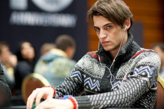 Andrey Saenko é o líder no final do Dia 1B 0001