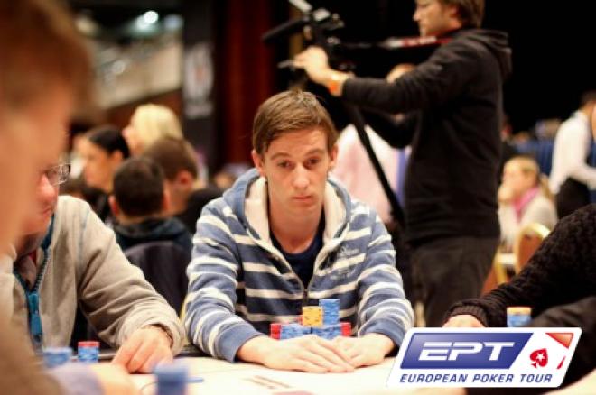 PokerStars.com EPT Praag: Patrick Renkers als absolute chipleader naar dag vier