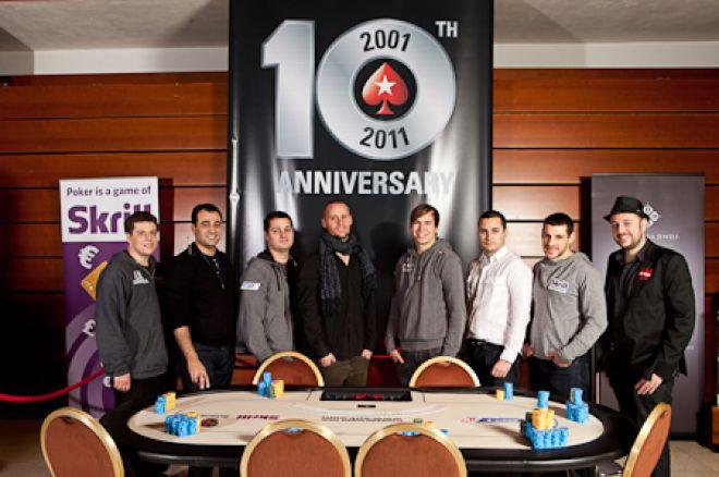 Украинец Денис Дробина на финальном столе PokerStars.com... 0001