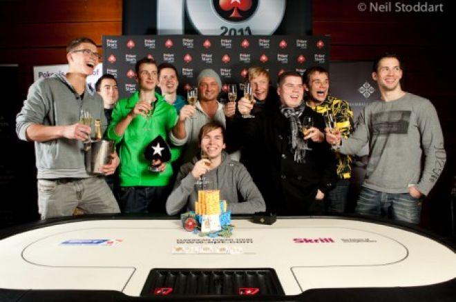 Мартин Фингер побеждает на PokerStars.com European Poker Tour Prague... 0001