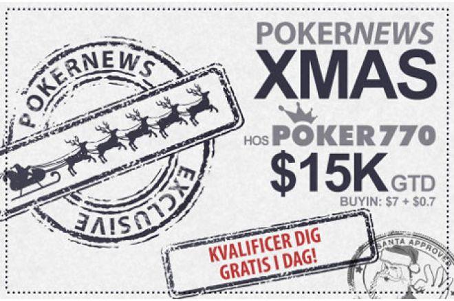 Vind Stort I Juleferien I $15.000 Xmas Turneringen Hos Poker770 0001