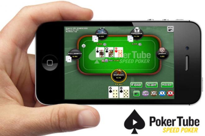 PokerTube Speed Poker nå på telefoner og brett! 0001