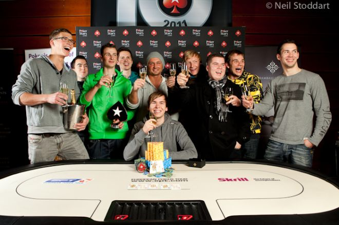Martin Finger赢得2011 PokerStars.com EPT Prague冠军 0001