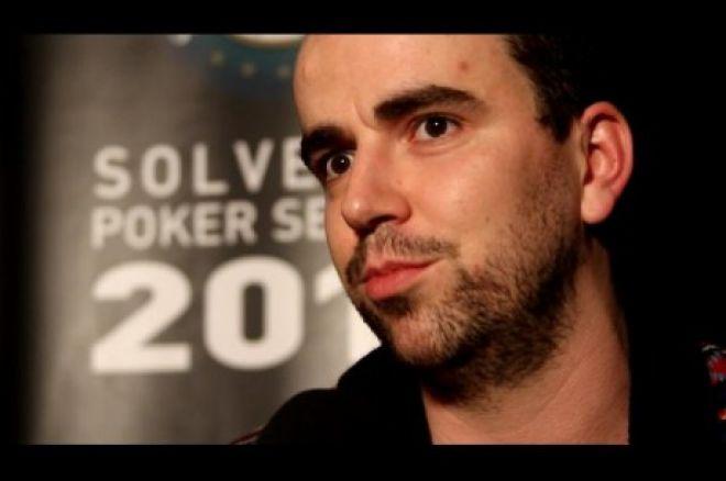 Herlander Pereira continua a liderar o Main Event do Solverde Poker Season 0001