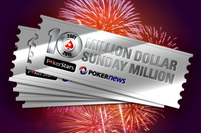 Sunday Million aastapäevaturniiri ennustusmäng 0001