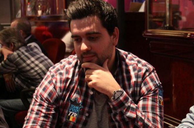 Anthony Rodrigues no Dia 2 do PokerStars.be BPS Namur 0001