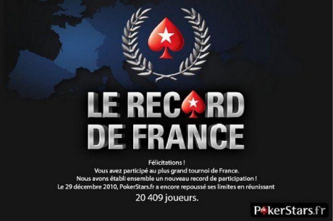 Le plus gros tournoi sur internet - PokerStars