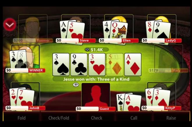 Poker v mobilu pro majitele iPhonů 0001