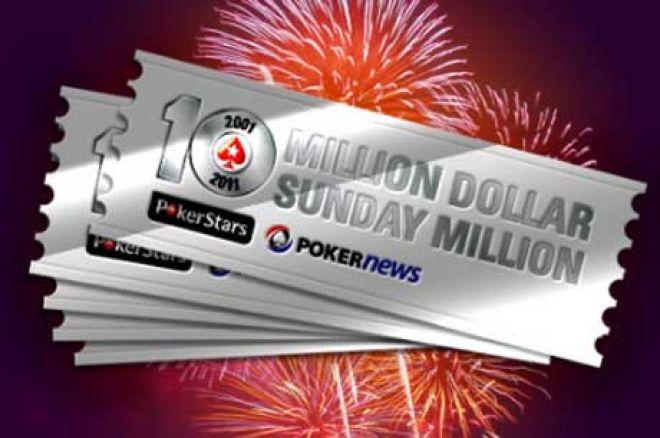 Iskoristi Priliku i Uzmi Ulaznicu za PokerStars Sunday Million Povodom 10.Godišnjice 0001