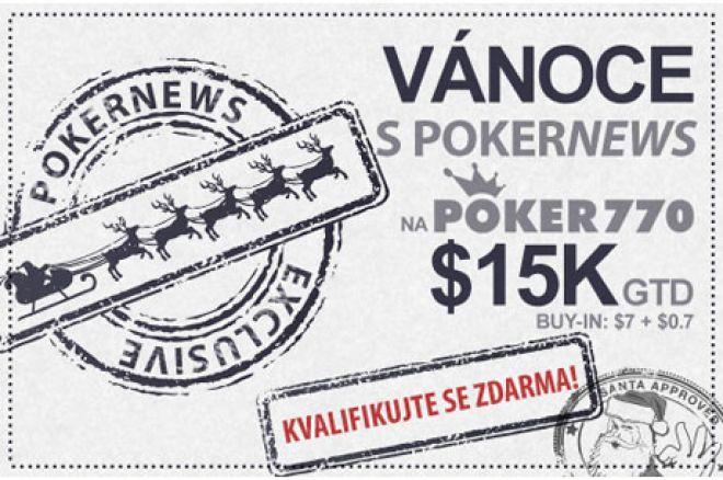 Získejte část z $15,000 jako vánoční dárek na Poker770 0001