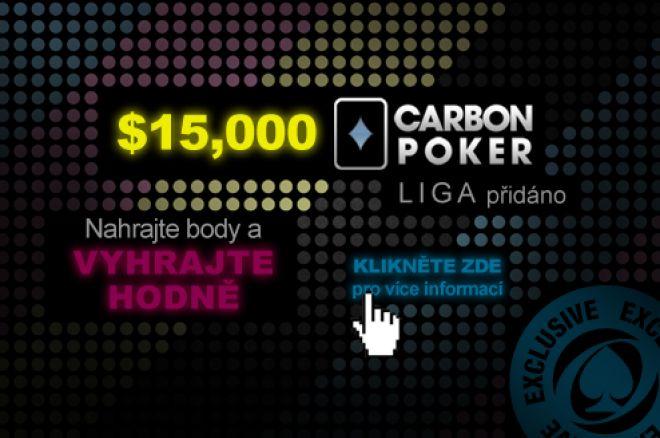 Vrcholí $15K Carbon Poker Liga - poslední šance si zahrát! 0001