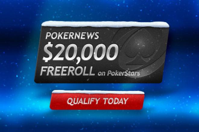 扑克新闻独享$20,000扑克之星免费赛 0001
