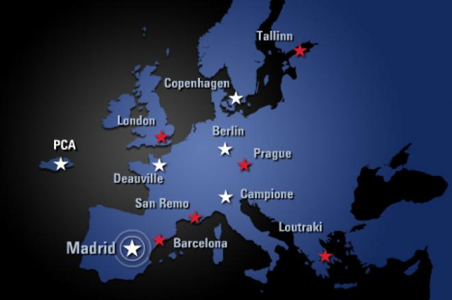 PokerStars EPT map