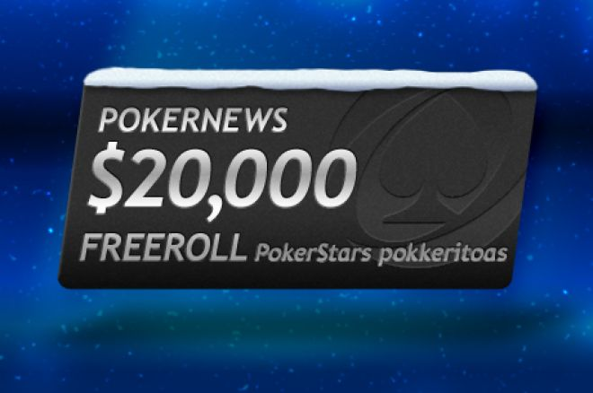 pokernews $20k freeroll