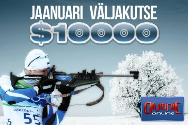 Jaanuari 10 000 dollari väljakutse