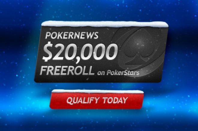 PokerNews Фрірол на PokerStars з призовим фондом у розмірі $... 0001