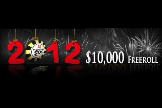 Celebrate the New Year with the 2012 Mansion Poker $10,000 Freeroll 0001