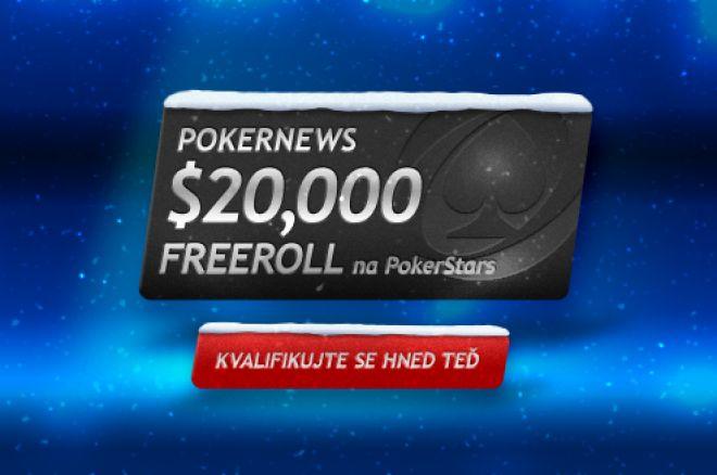 $20,000 pro vás v PokerNews PokerStars Freerollu 0001
