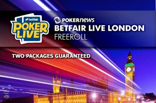 Betfair Poker LIVE de Londres