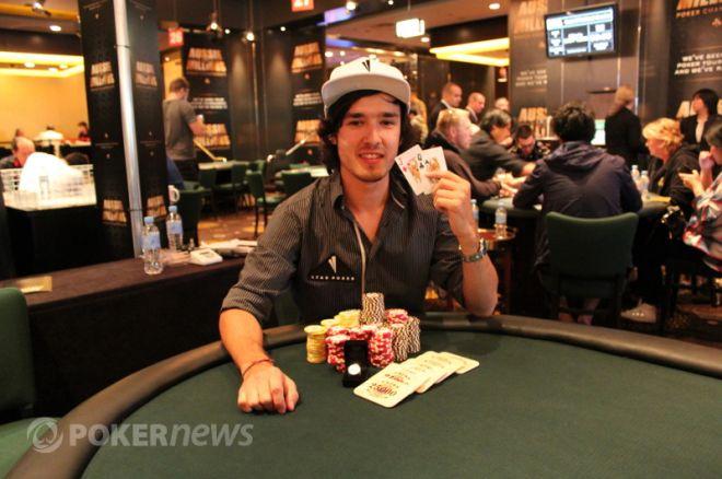 Brendon Rubie vant første øvelse under 2012 Aussie Millions 0001