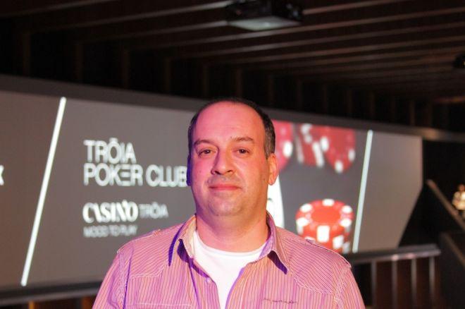 José Serralheiro lidera no DeepStack Tróia Tour #1 0001