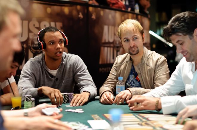 Phil Ivey and Daniel Negreanu