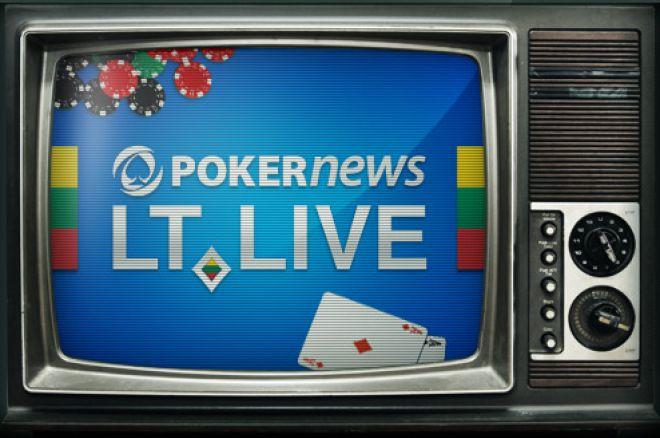 """Naujas projektas: """"PokerNews LT Live"""" internetinė laida 0001"""