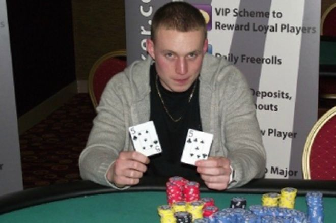 Josh Evans won the last One Way Poker Live event