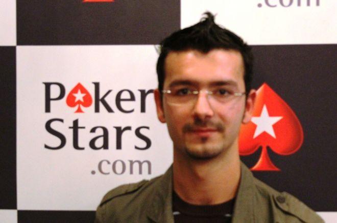 Hugo Almeida à frente à entrada do dia 2 do Solverde Poker Season 0001
