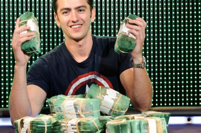 Olliver Speidel vant Aussie Millions Main Event, 2012. 0001